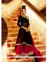 Awesome Georgette Black Resham Work Designer Palazzo Salwar Suit