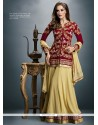 Aspiring Patch Border Work Designer Salwar Suit