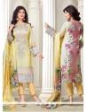 Ayesha Takia Embroidered Work Designer Straight Salwar Suit