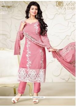 Ayesha Takia Georgette Designer Straight Salwar Suit