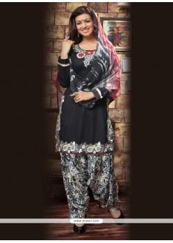 Specialised Resham Work Cotton Designer Patiala Suit