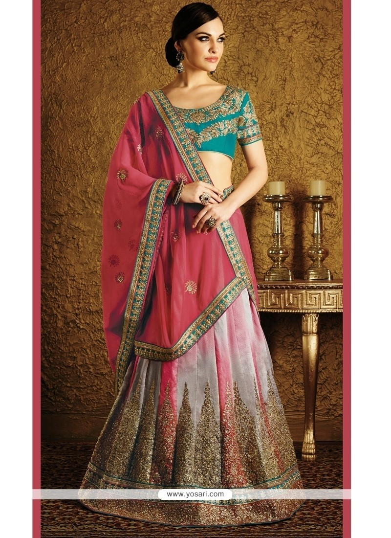 Enchanting Lehenga Saree For Wedding