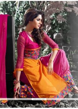 Especial Hot Pink Designer Salwar Suit