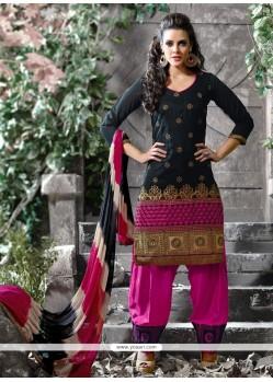 Hypnotic Black Designer Salwar Suit