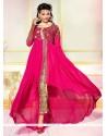 Picturesque Georgette Resham Work Designer Salwar Suit
