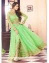 Malaika Arora Khan Sea Green Designer Salwar Suit