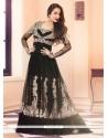 Malaika Arora Khan Black Anarkali Salwar Suit