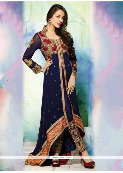 Beguiling Georgette Designer Salwar Suit