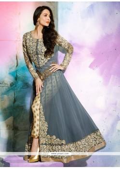 Malaika Arora Khan Embroidered Work Designer Salwar Suit