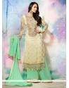 Malaika Arora Khan Resham Work Designer Palazzo Salwar Kameez