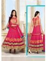Tempting Net Anarkali Salwar Suit