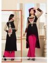 Perfervid Embroidered Work Net Black Designer Salwar Suit