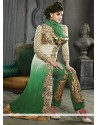 Sea Green Embroidery Pakistani Suit