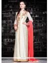 Fetching Georgette Embroidered Work Designer Salwar Suit