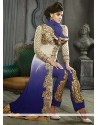 Deserving Blue Georgette Salwar Suit