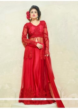 Mesmeric Net Resham Work Designer Salwar Kameez