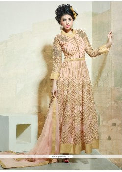 Bewitching Resham Work Net Anarkali Salwar Suit