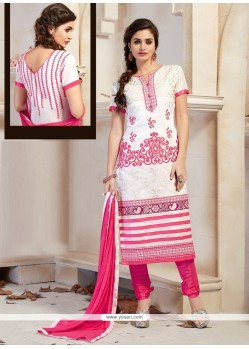 Genius Off White Churidar Designer Suit