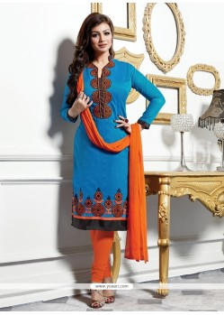 Ayesha Takia Cotton Churidar Designer Suit