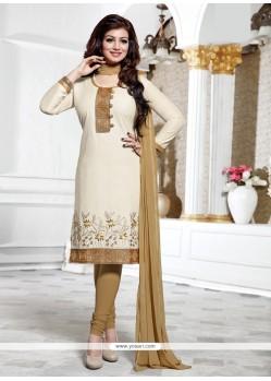 Ayesha Takia Off White Churidar Designer Suit