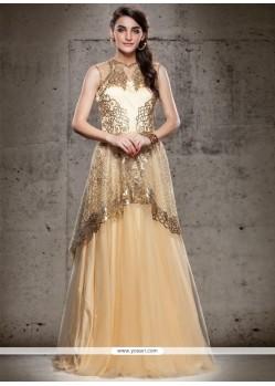 Paramount Net Floor Length Gown