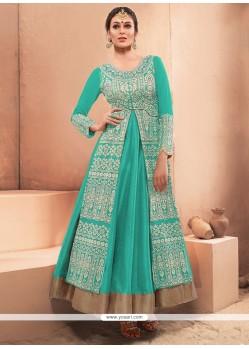 Alluring Embroidered Work Designer Gown