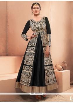Snazzy Resham Work Net Designer Gown