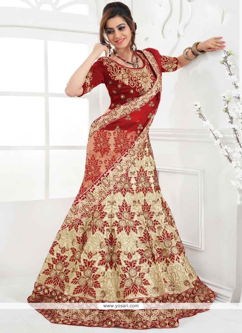 Captivating Raw Silk A Line Lehenga Choli