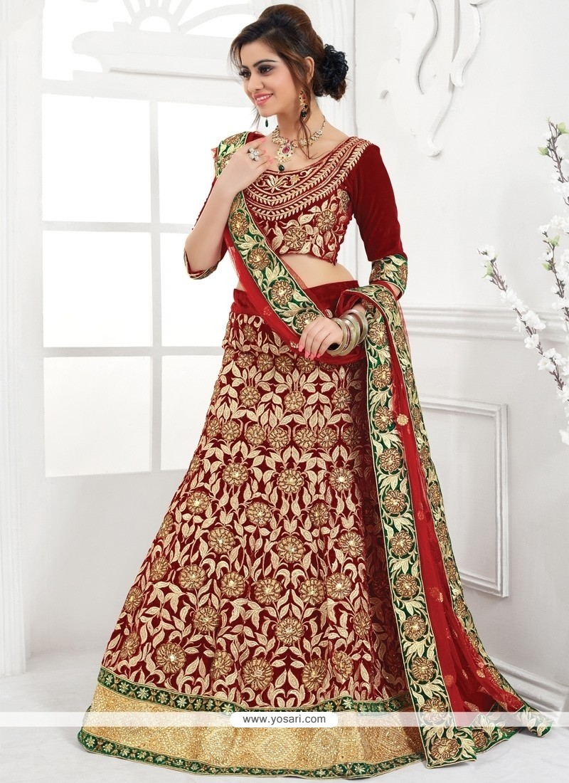 Sensible Raw Silk A Line Lehenga Choli