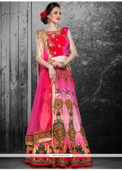 Marvelous Multi Colour A Line Lehenga Choli