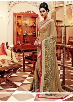 Fantastic Lace Work Designer Saree