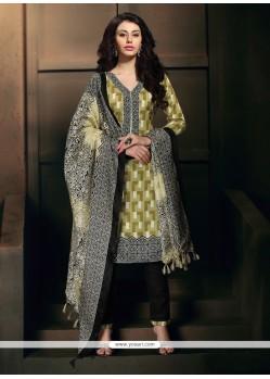 Talismanic Banglori Silk Lace Work Churidar Designer Suit