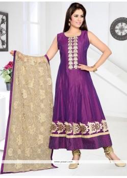 Hypnotic Resham Work Anarkali Salwar Suit