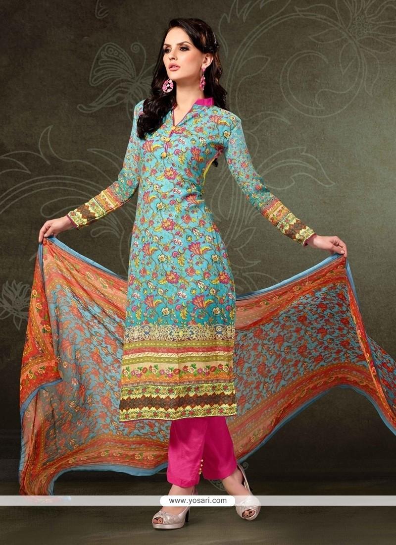 d7018d8a34 Shop online Dazzling Pashmina Digital Print Work Designer Straight ...