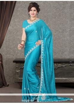 Classy Zari Work Designer Saree