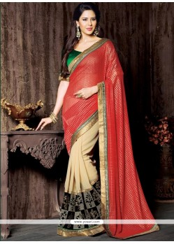 Honourable Georgette Designer Saree