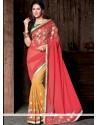 Suave Hot Pink Designer Saree