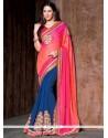 Exotic Lace Work Designer Saree