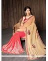 Mesmerizing Resham Work Georgette Designer Saree