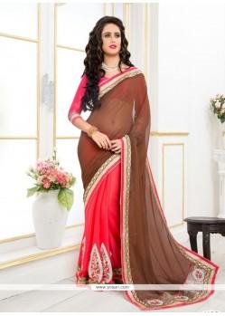 Especial Georgette Designer Saree