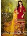 Conspicuous Lace Work Designer Patiala Suit