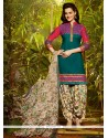 Fascinating Cotton Designer Patila Salwar Suit
