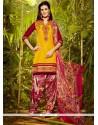 Exotic Cotton Designer Patila Salwar Suit