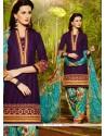 Mystical Cotton Resham Work Designer Patiala Salwar Kameez