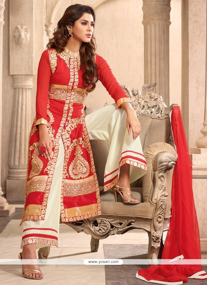 Angelic Red Designer Suit