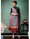 Elite Multicolor Georgette Churidar Suit