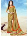 Affectionate Print Work Multi Colour Casual Saree