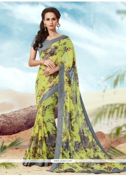 Cute Multi Colour Casual Saree