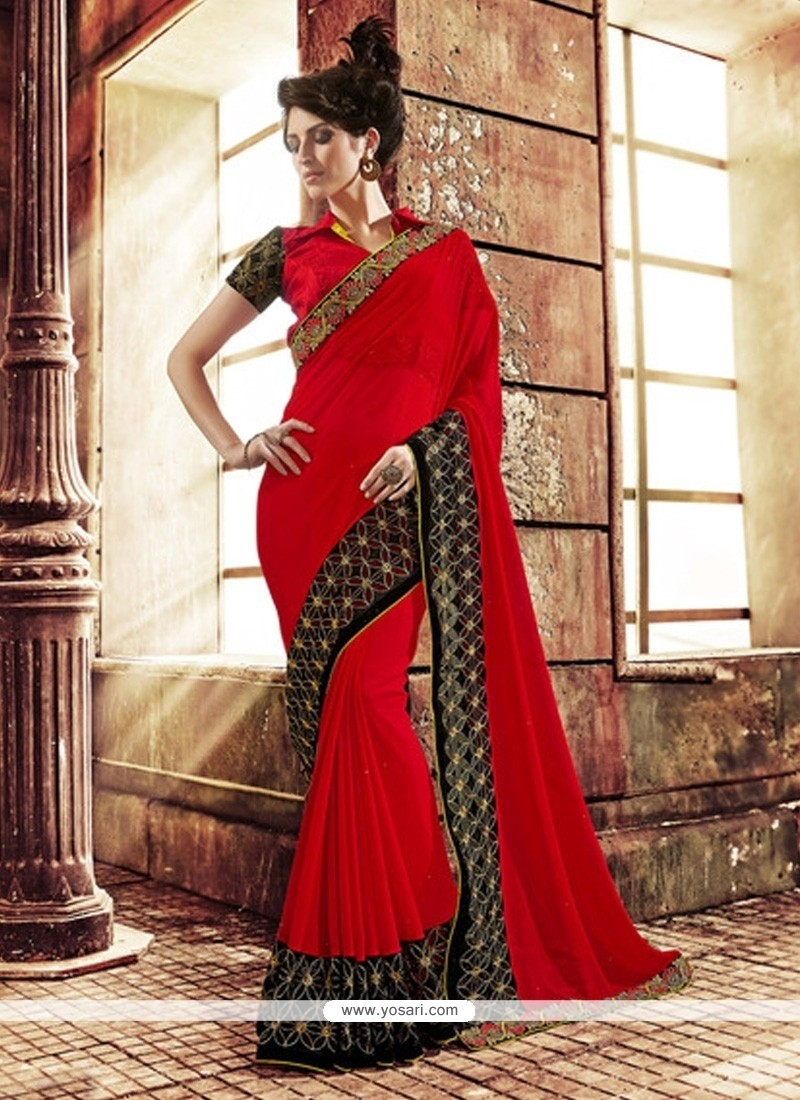 Beauteous Net Designer Saree
