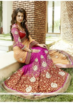 Magnificent Zari Work Designer Saree
